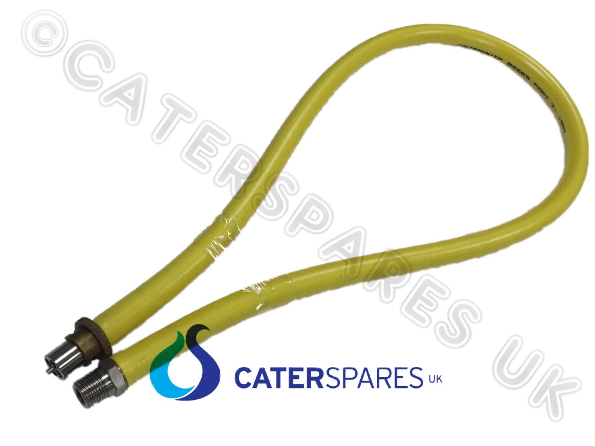 "CATERHOSE 1//2/"" BAYONETT ANGLED ELBOW GAS HOSE REPALCEMENT BAYONET FITTING HEAD"