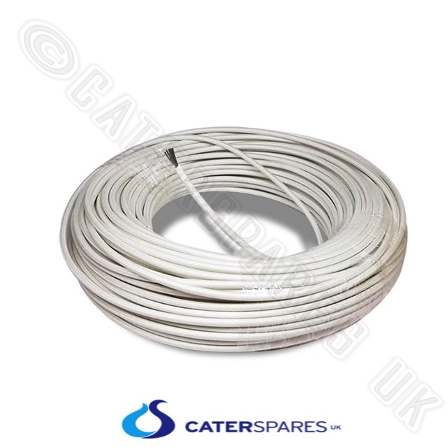 Astonishing 4Mm White High Temperature Fibreglass Wire 40A Heat Resistant Cable Wiring Cloud Oideiuggs Outletorg