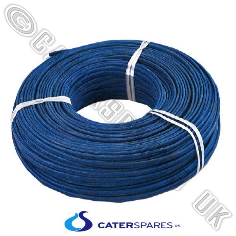 4mm Blue High Temperature Fibreglass Wire 40a Heat