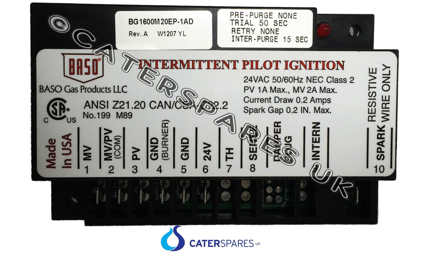 2152700 garland intermittent oven pilot ignition module. Black Bedroom Furniture Sets. Home Design Ideas