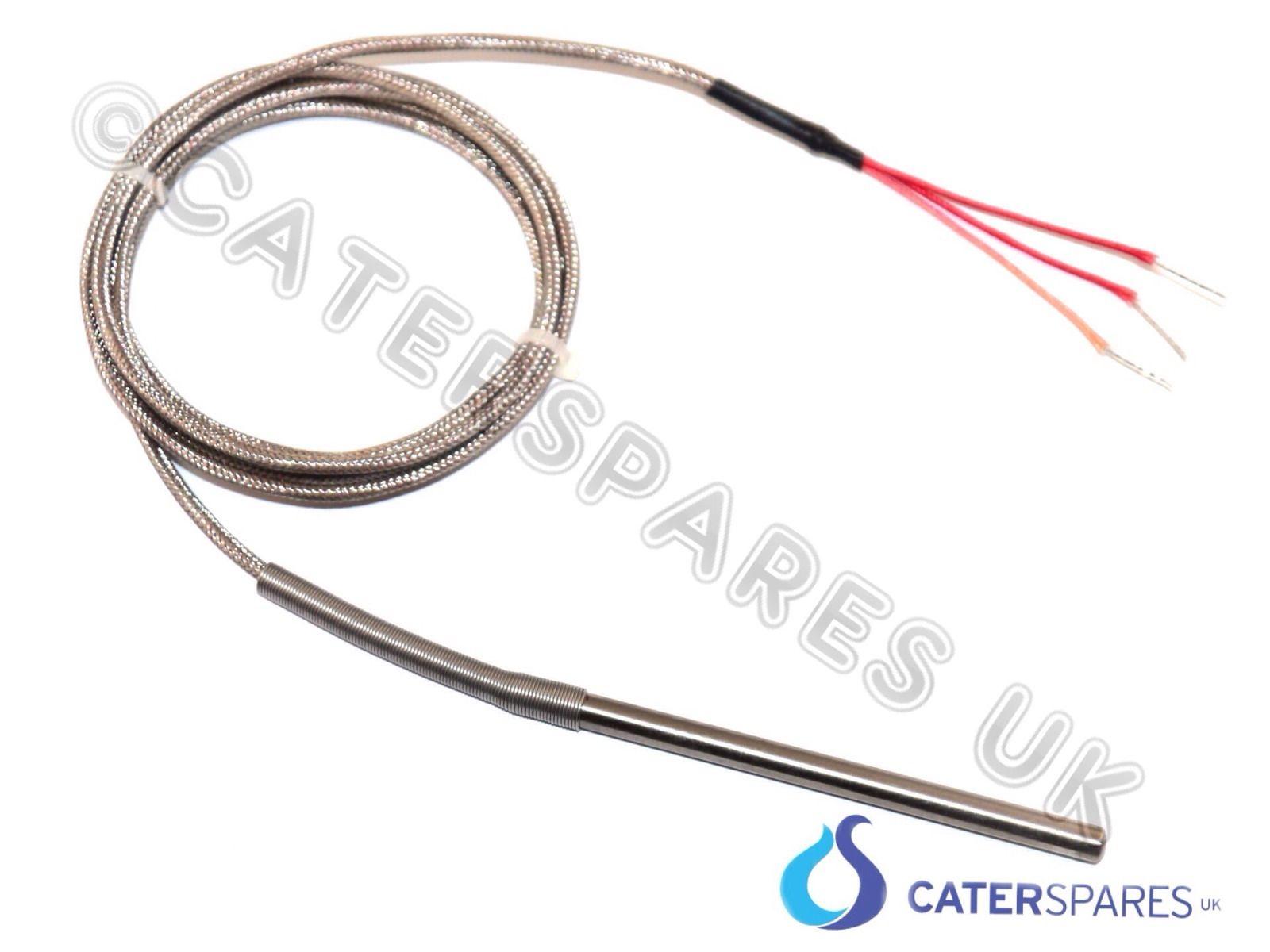 Pt100 3 Wire Thermocouple High Temperature Probe 1500mm