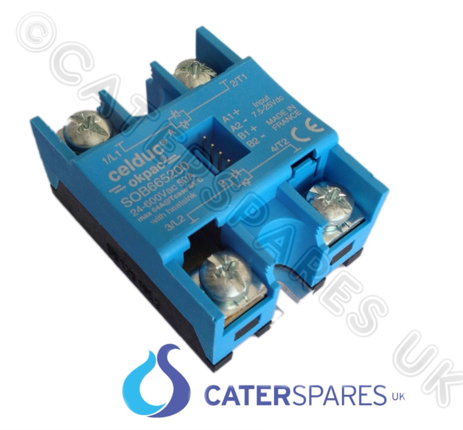 Rational Combi Steam Oven Solid State Relay New Type Ssr Cpc  U0026 Scc Models Parts  U2013 Catersparesuk